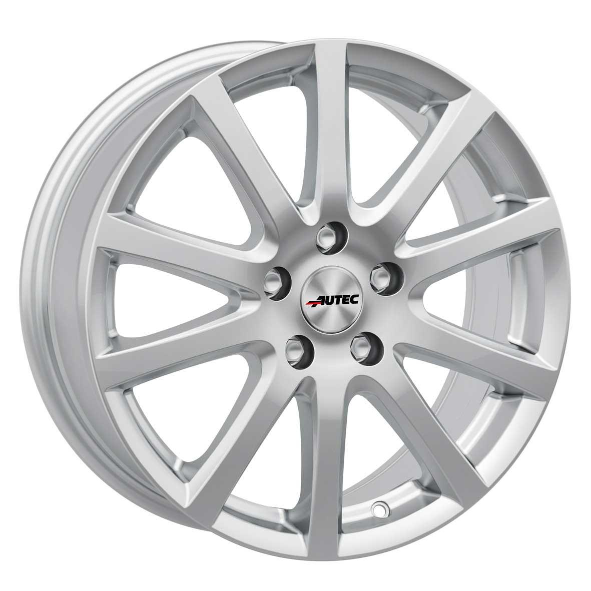 Jantes Autec SKANDIC 6.0x15 ET40 4x100 SIL pour Fiat Grande Punto Punto Punto Ev