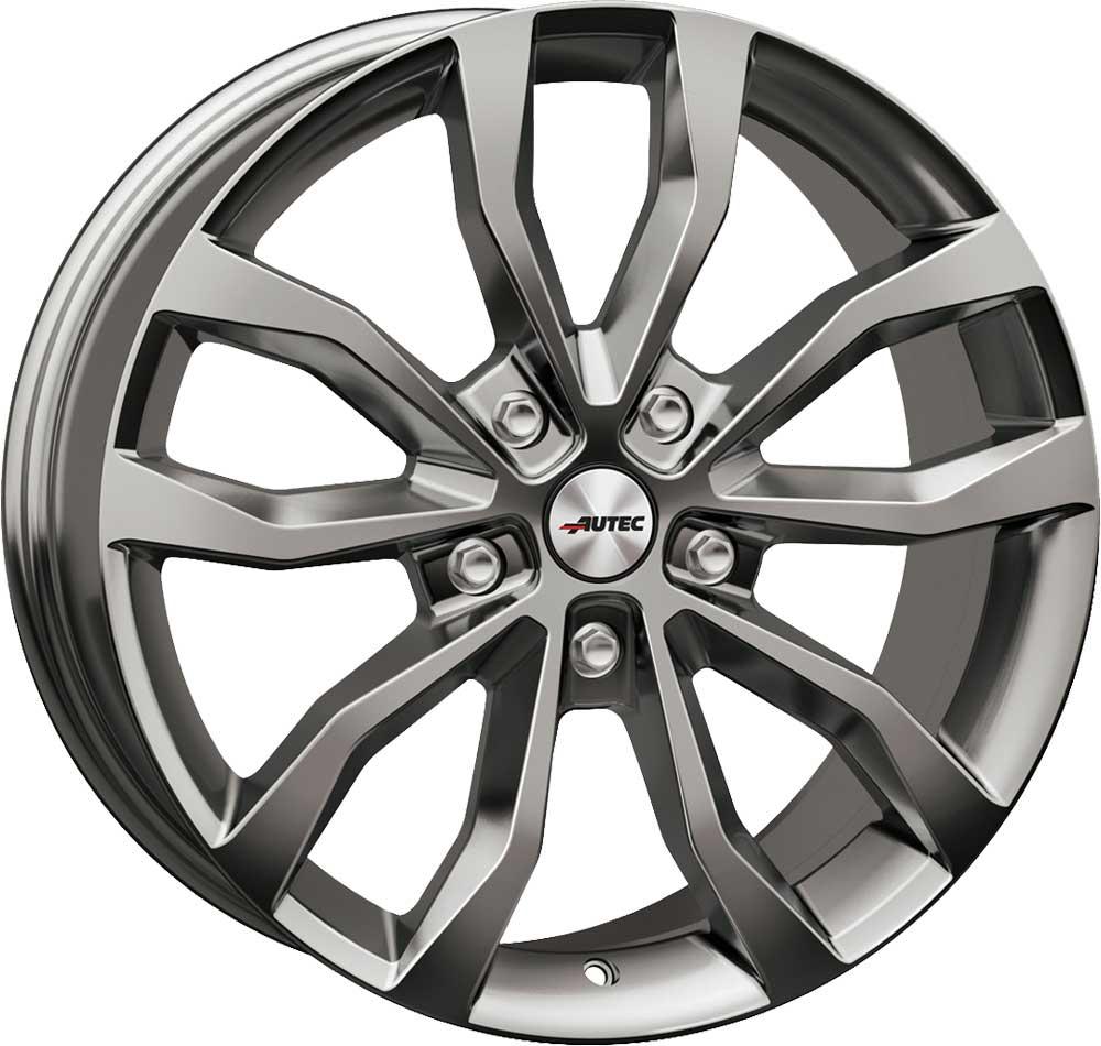 Llantas Autec UTECA 8.5x19 ET50 5x130 SIL para VW Touareg