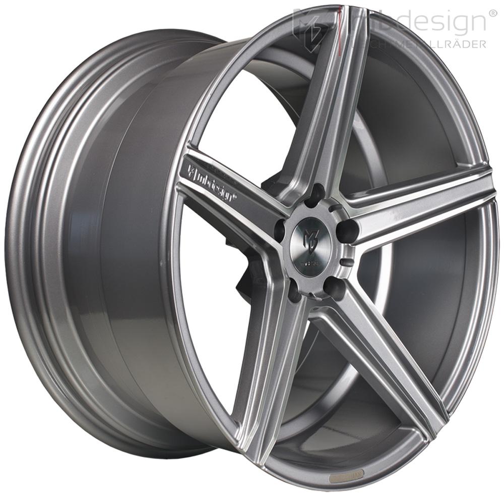 mb design wheels kv1 et43 5x108 greyp for volvo c70. Black Bedroom Furniture Sets. Home Design Ideas